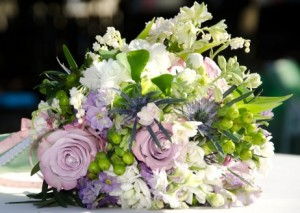 preserving wedding flower bouquet 300x213 Random Thoughts Today on Wedding Flowers