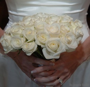 DIY Flowers White Roses Petals 121713 300x291 Engagement Party with Wholesale Flowers