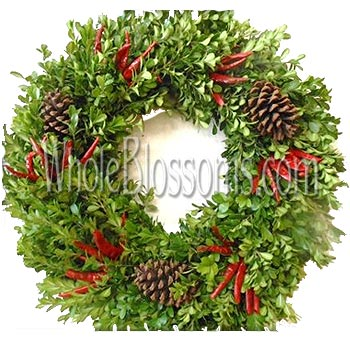 Wholesale garland wreaths swags and candle rings whole blossoms