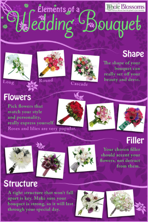 elements of a wedding bouquet