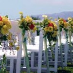 7 Ways Backs of Chairs 150x150 7 Ways to Use Flowers in Your Wedding