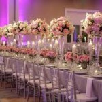 Centerpiece 6 150x150 Creating the Perfect Sweetheart Table for the Bride and Groom