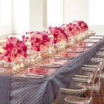 Centerpieces 3 150x150 Creating the Perfect Sweetheart Table for the Bride and Groom