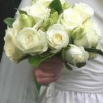 Rose - White Wedding Boouquet