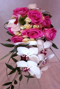 Orchid Wedding Bouquet 2