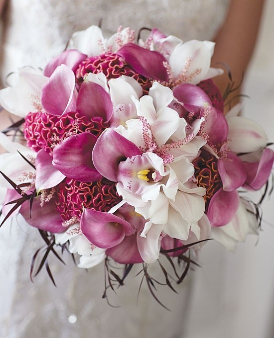 Orchid Flower Arrangements For Weddings: Orchid Wedding Bouquet & Flowers
