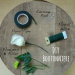 How to make Boutonnieres