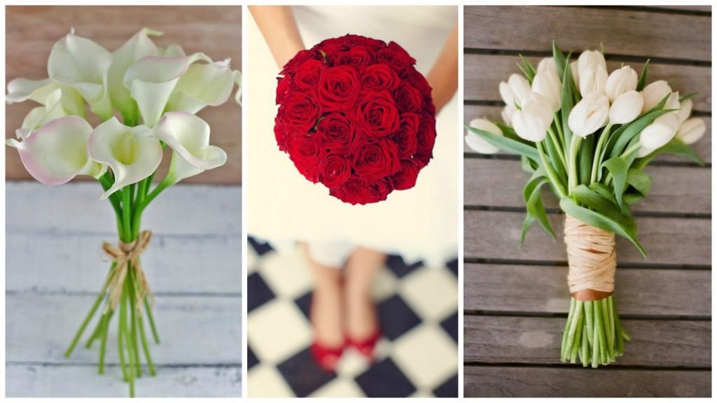 Make a wedding bouquet at home