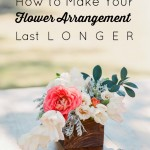 How To Make Flower Arrangements