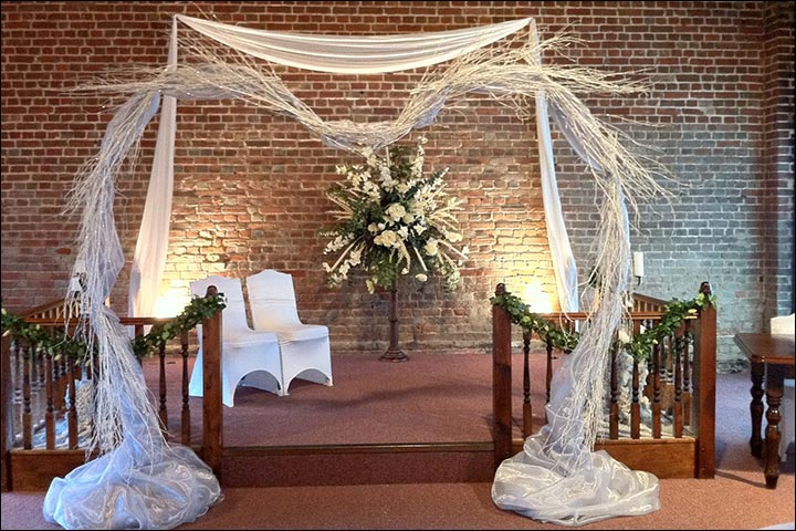 15 Best Floral Wedding Altars Arches Decorating Ideas