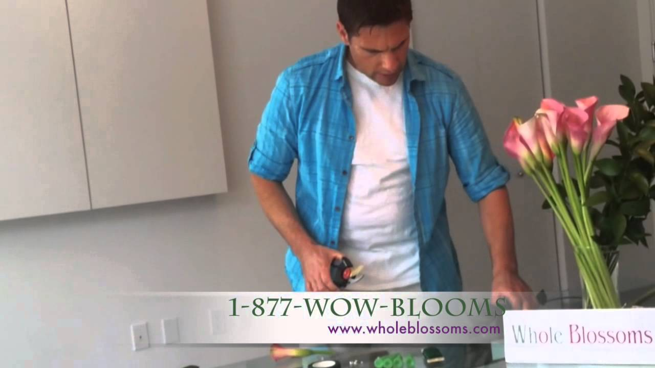 How To Make A Boutonniere - Whole Blossoms