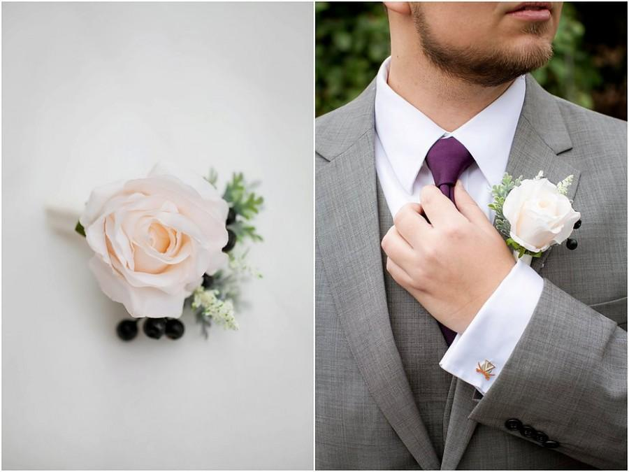 Boutonnieres – the silent heroes in your wedding