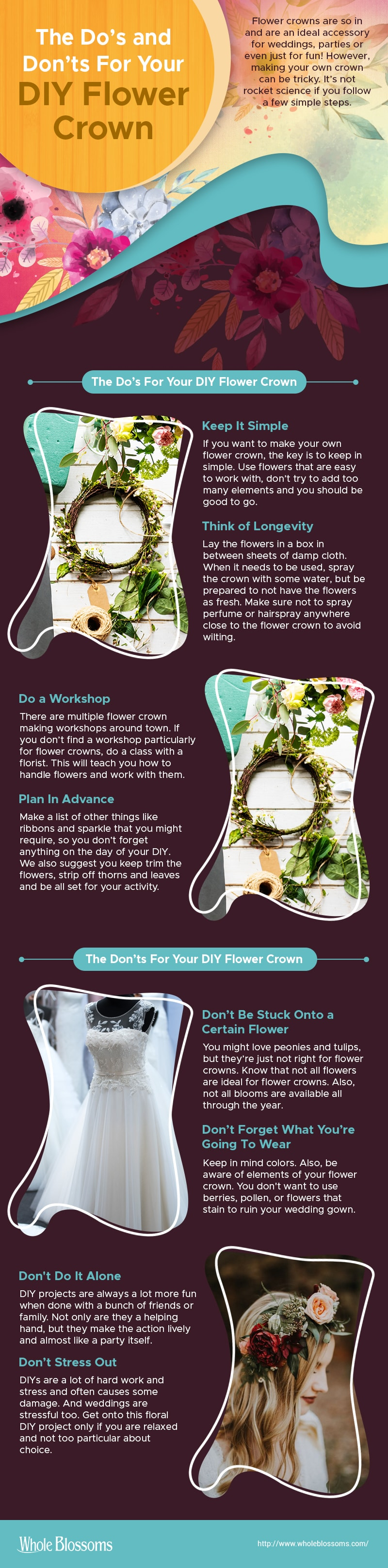 The Do's & Don'ts for Your DIY Flower Crown