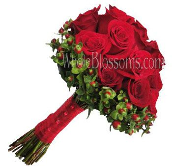 Red Rose Bridal Flower Package