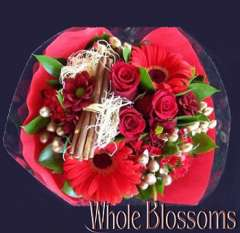 Christmas Joy Flower Centerpiece