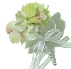 Antique Hydrangea Pin Corsage Flower