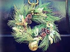 Fresh Cut Wreaths for Weddings and Events