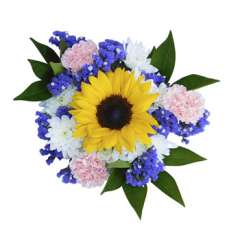 Bright Easter Floral Centerpieces