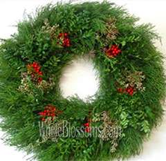Boxberry Wreath