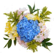 Easter Reception Centerpieces