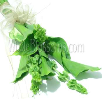 Green Calla Bridal Bouquet