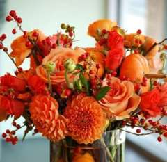 Halloween Inspired Fall DIY Wedding Flowers Package