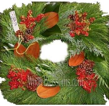 Leyland Fresh Cut Squared Wreath
