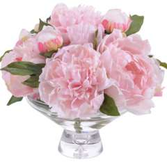 Pink Peonies Flower Bouquet