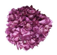 Metallic Lavender Glitter Hydrangea Flower For Sale