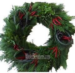 Whole Blossoms Deluxe Mix Wreaths