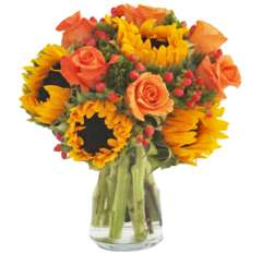Radiant Sunflower Bouquet