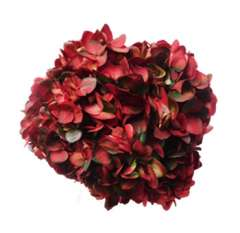 Red Antique Hydrangea Wedding