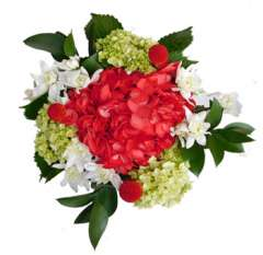Red Christmas Holiday Centerpieces