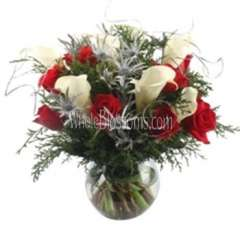 Red Love Flower Arrangement