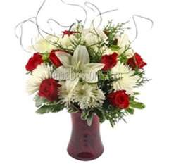 Deluxe Lovers Flower Arrangements