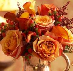 Romantic Fall DIY Wedding Flowers Package
