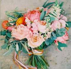 Soft And Romantic Rose DIY Wedding Flowers Package
