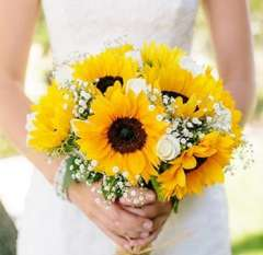 Tall And Classy Summer DIY Wedding Flowers Package