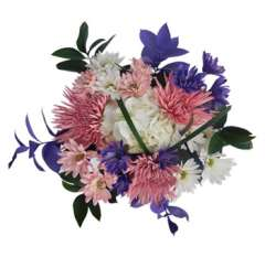Tenderness Purple Autumn Centerpieces