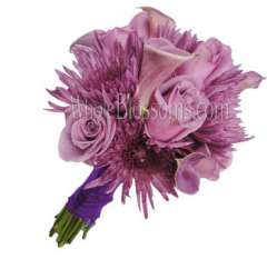 Lavender Bridal Flower Package