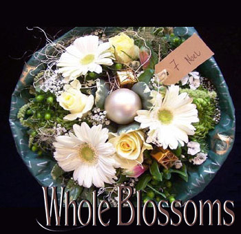 Christmas Flower Centerpiece Noel
