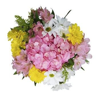 Alstroemeria Easter Wedding Centerpieces