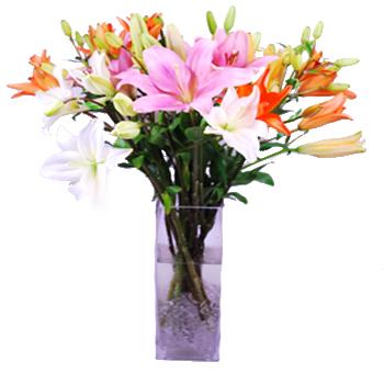 Lily Fest Flower Bouquets