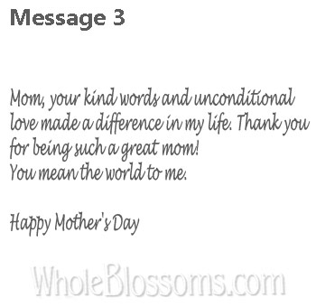 3 Great Mom Message