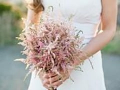 Astilbe is a favorite filler for wedding bouquets