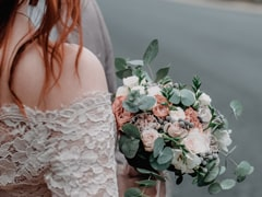 Eucalyptus is a fragrant filler ideal for wedding bouquets