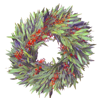 Bayleaf and Pepperberry Wreath