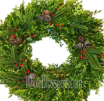 Boxwood Mix Wreath