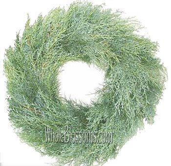 Carolina Sapphire Wholesale Wreath