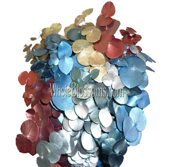 Eucalyptus Metallic Christmas Flower Filler